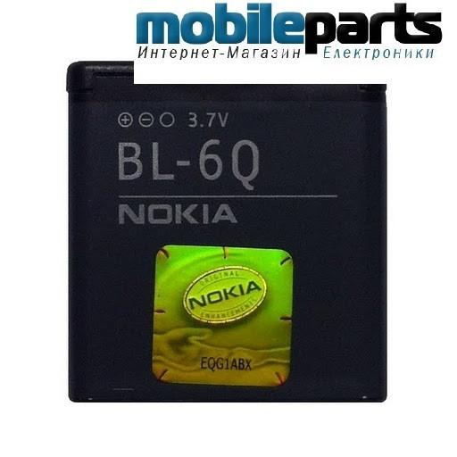 АКБ батарея АА STANDART NOKIA BL-6Q  970mAh