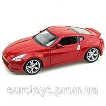 MAISTO Автомодель (1:24) 2009 Nissan 370Z красный