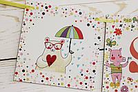 Бумажная гирлянда на день рождения Животные