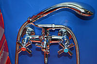 Смеситель для ванны Zerix D3Q-A722
