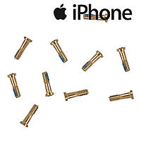 Шурупы внешние iPhone 6 / 6 Plus / 6S / 6S Plus, золотистые (внешние, 10 шт.)