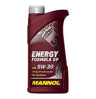 Моторное масло Mannol Energy Formula OP SAE 5W-30 A3/B4 1 л