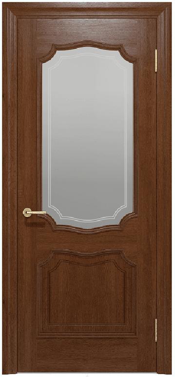 Двери Луидор Status Doors темный орех