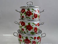 Набор посуды Каркаде №1600 (3-х предметный) ТМ Epos