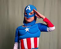 Капитан Америка объемный, с мышцами