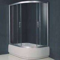 Душевая кабина с глубоким поддоном VICTORIA-SATIN 1200*800*2030 левая, стекло (4мм)