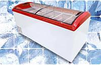 Морозильный ларь с гнутым стеклом Juka M800D