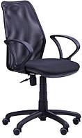 Кресло Oxi АМФ-4 сиденье Квадро-20, спинка Сетка синяя