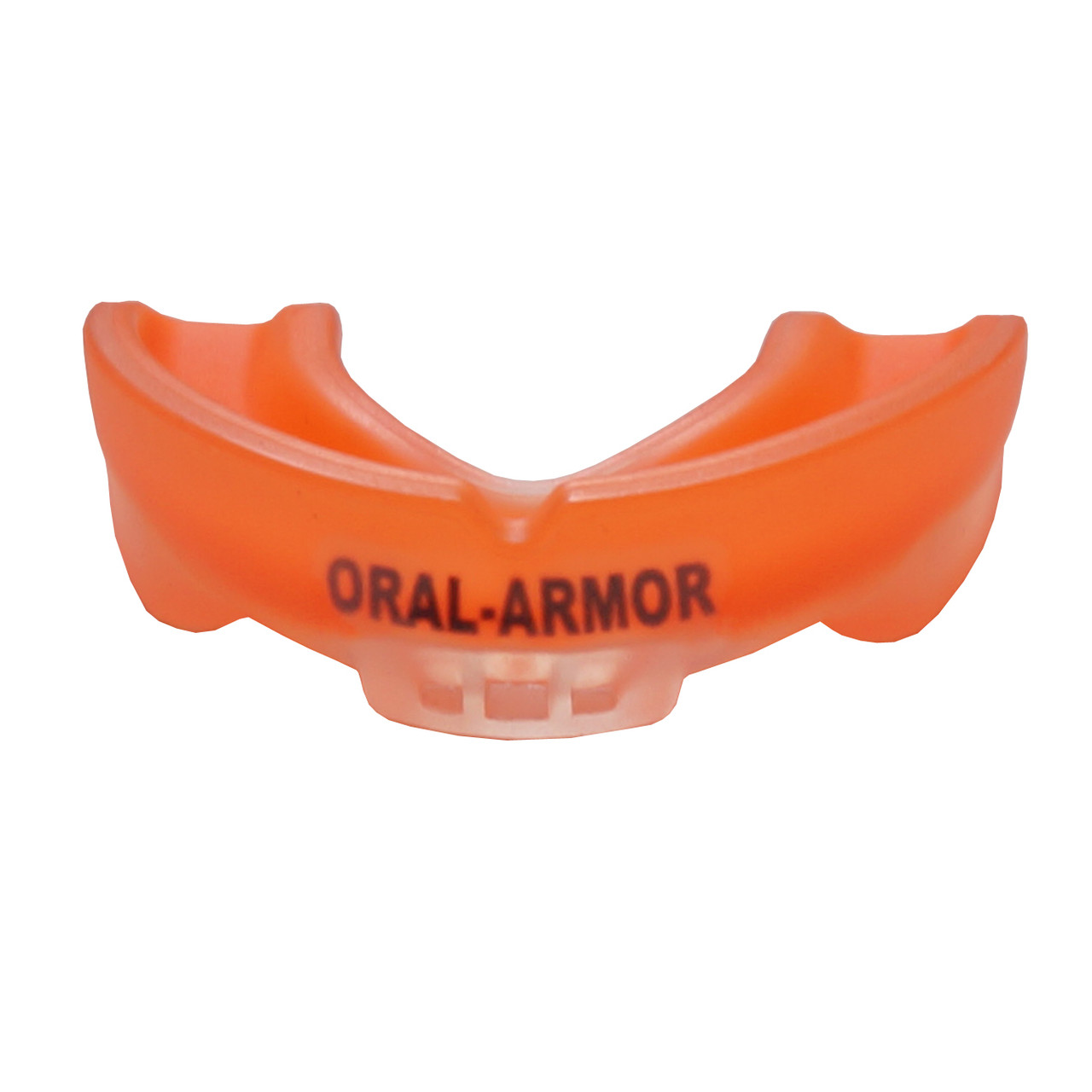 Капа боксерская ORAL-ARMOR Gel 3D Elite Orange/Clear