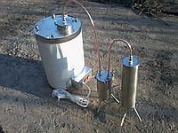 Электрический с медным змеевиком - 20 литров - Самогонный аппарат