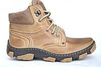 Мужские кожаные утепленные ботинки 40-46 код: 6351716081