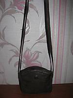 Коричневая кожаная сумка Giovanni