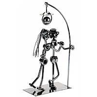 Техно-арт статуэтка Парочка под фонарем металл