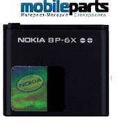 Оригинальный аккумулятор  АКБ батарея NOKIA BP-6X  700mAh