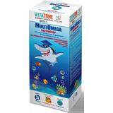 Витатон Мультиомега сироп -  14 витаминов и минералов, а также рыбий жир из морских рыб (165 мл