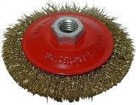 Щетка-крацовка круговая, латунная Spitce (18-102) 100мм (шт.)
