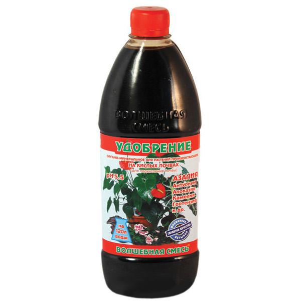 """Органоминеральное удобрение ТМ """"Чистый лист"""" Волшебная смесь (500 мл), для кислых почв."""