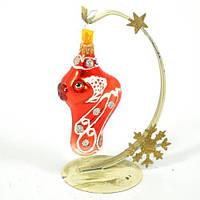 Новогодняя игрушка А 35 Золотая рыбка