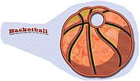 Полотенце с петелькой Баскетбольный мяч  (40*70 для рук) , фото 1