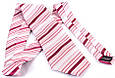 Чоловіча краватка з шовку SCHONAU & HOUCKEN FARESHS-92 -сірий, фото 2
