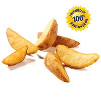 Картофельные дольки в кожуре замороженные