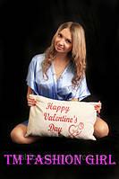 """Подарочная подушка """"Happy Valentine""""s Day"""""""