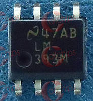 Аналоговый компаратор NS LM393MX SOP8