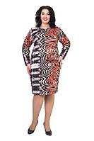 Платье Речина увеличенного размера