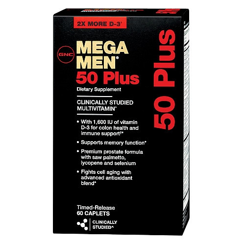 Витамины MEGA MEN 50 PLUS 120 каплет
