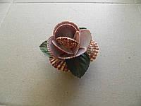 Цветок с натуральной ракушки 5 см