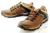 Треккинговые ботинки из натуральной кожи код: 6536356866
