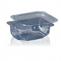 Пластиковая упаковка для салатов и полуфабрикатов