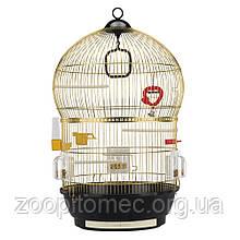 Круглая  клетка для птиц BALI FERPLAST-ФЕРПЛАСТ, латунь  d43,5*68,5 cm