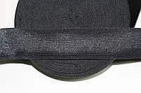 Резинка декоративная 60мм. черный, фото 1