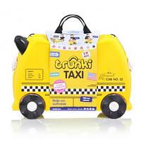 Чемодан детский на колесах TAXI Terrance Trunki (такси)