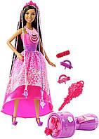Принцесса Ники из серии Барби Сказочно-длинные волосы / Barbie Endless Hair Kingdom Snap 'n Style Princess Nik