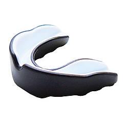 Капа боксерская FIREPOWER Двухцветная Black/White