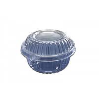 Пластиковая упаковка для десертов. d108*66