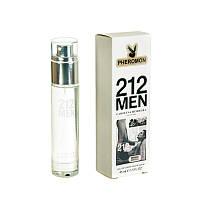 Мини-парфюм с феромонами Carolina Herrera 212 men, 45 ml