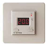 Терморегулятор для теплого пола terneo st Слоновая кость