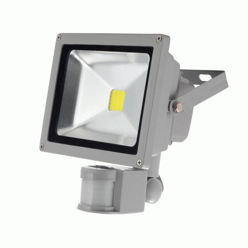 Прожектор светодиодный 20W с датчиком движения Sensor белый холодный - Nove Svitlo в Кропивницком