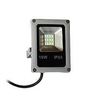 Прожектор светодиодный 10W SLIM SMD белый холодный