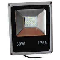 Прожектор светодиодный 30W SLIM SMD белый холодный
