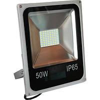 Прожектор светодиодный 50W SLIM SMD белый холодный