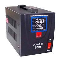 Релейный стабилизатор напряжения Eltis DOMO-II-TLD-500VA LED цифр. 0,5кВА 1-фазний