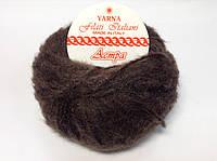 Пряжа Астра Италия (мохер) - цвет темно-коричневый