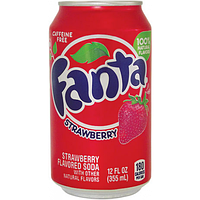 Fanta Strawberry 0.33 (12шт)