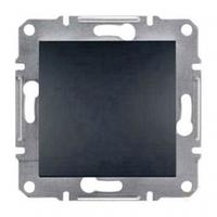 Механизм кнопки 1-клавишной антрацит  Schneider Electric Asfora
