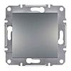Механизм кнопки 1-клавишной сталь Schneider Electric Asfora