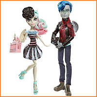 Набор кукол Monster High Рошель Гойл и Гаррот ДюРок (Rochelle & Garrott du Roque) Love in Scaris Монстр Хай